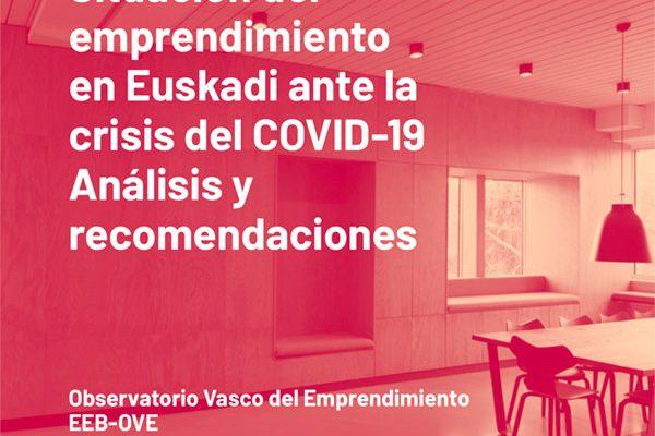 Situación del emprendimiento en Euskadi ante la crisis del COVID-19